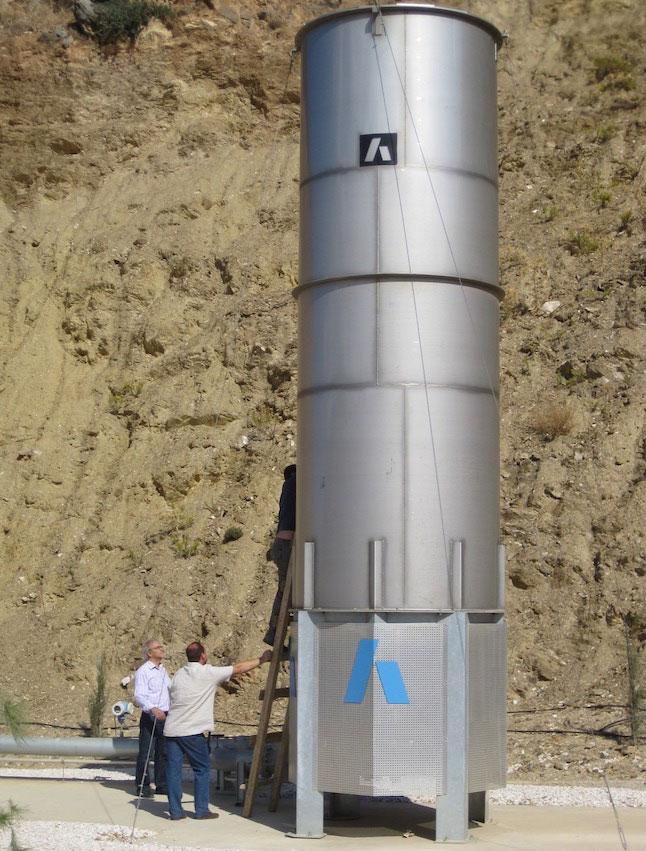 Πυρσός Καύσης Βιοαερίου, ΧΥΤΑ Πέρα Γαλήνων, Ηράκλειο Κρήτης