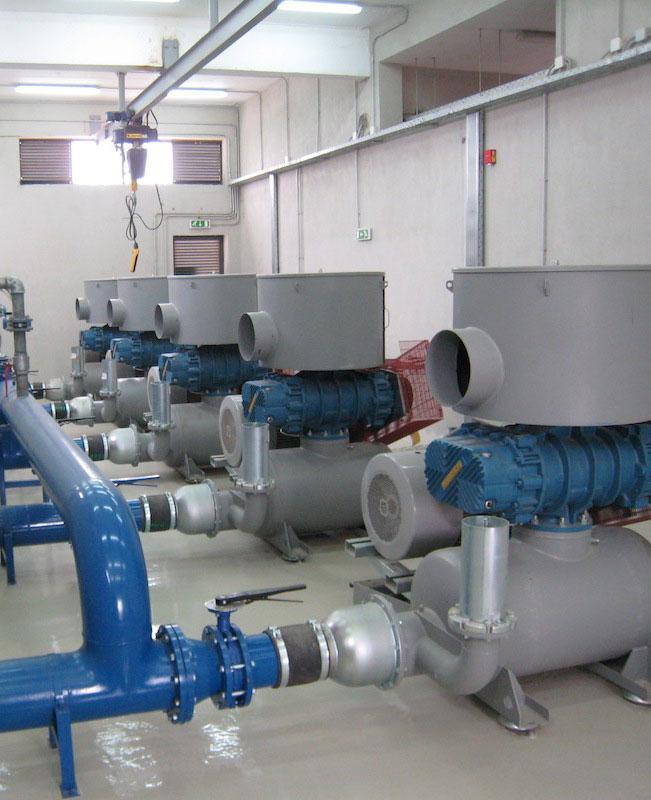 Σύστημα Αερισμού Στραγγιδίων & Πυρσοί Βιοαερίου, ΧΥΤΑ Μαυροράχης, Θεσσαλονίκη