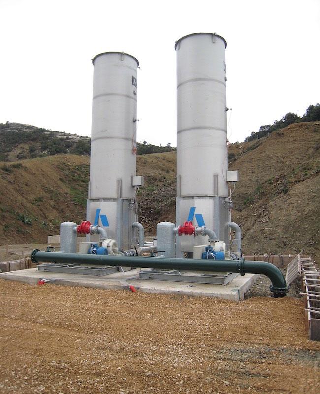 Πυρσοί Καύσης Βιοαερίου, ΧΥΤΑ Αγρινίου Αιτωλοακαρνανίας