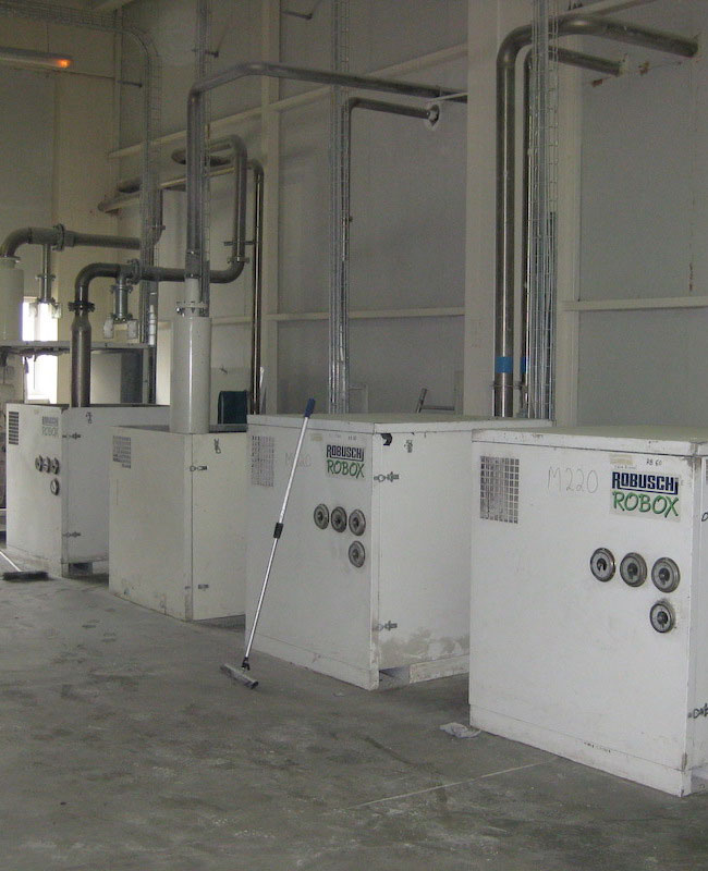 Industrial blowers for semolina pneumatic transport in prominent spaghetti industry