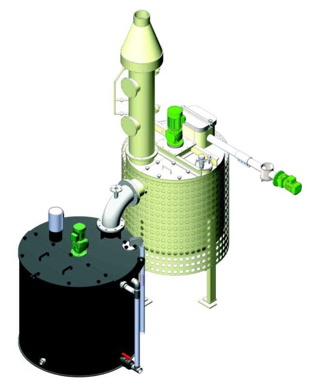 Συστήματα παρασκευής διαλυμάτων ασβέστη (lime slacker)