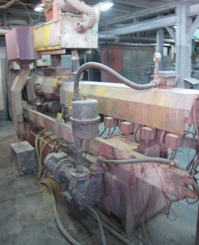 Αντλία κενού σε extruder PVC masterbatch
