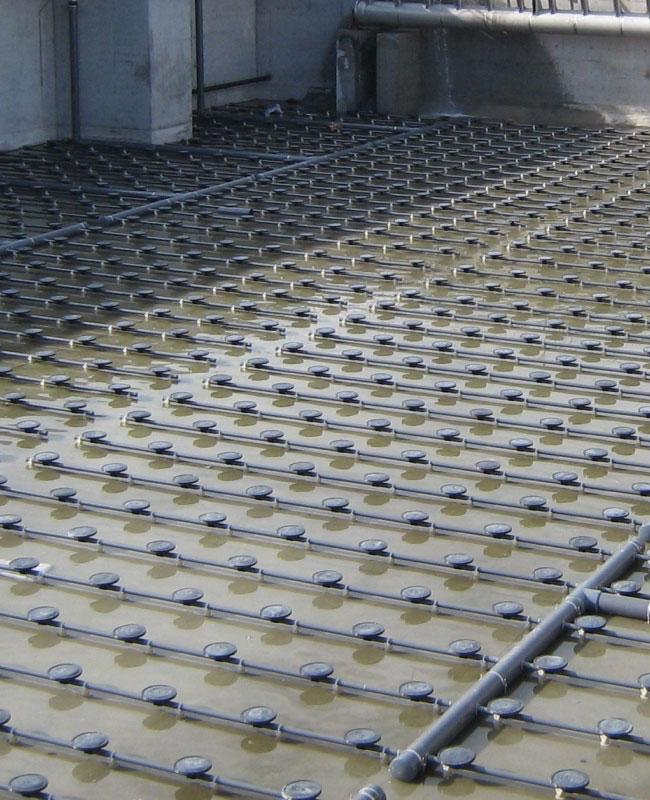 Διαχύτες μεμβράνης αερισμού λυμάτων Σειρά Oxyflex®