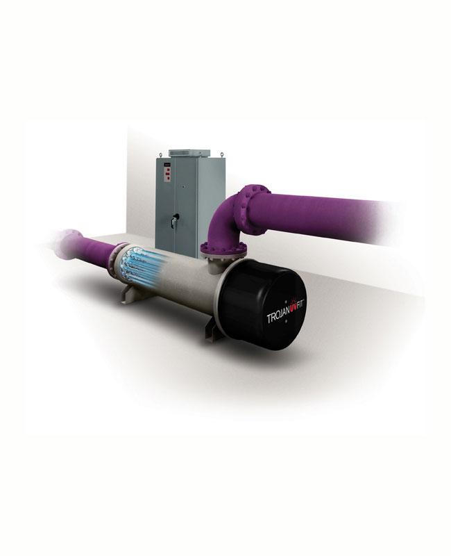 Συστήματα UV κλειστού θαλάμου για λύματα Σειρά UVFit