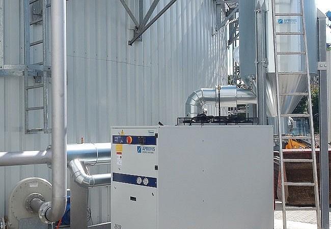 Εξοπλισμός επεξεργασίας βιοαερίου