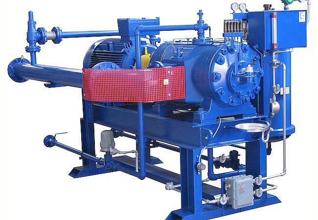 Πτερυγιοφόροι συμπιεστές βιοαερίου Σειρά RF/RFL